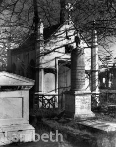 MARSDEN TOMB, NORWOOD CEMETERY, WEST NORWOOD