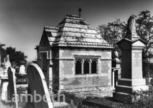 HENRY DOULTON MAUSOLEUM, NORWOOD CEMETERY, WEST NORWOOD