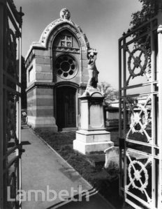 JOHN PETER RALLI MAUSOLEUM, NORWOOD CEMETERY, WEST NORWOOD