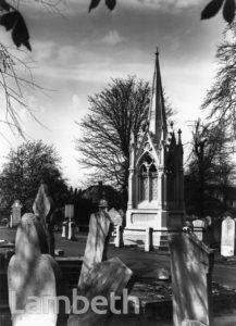 JAMES GILBART MONUMENT, NORWOOD CEMETERY, WEST NORWOOD