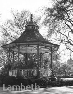 BANDSTAND, MYATT'S FIELDS, BRIXTON NORTH