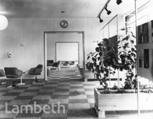 LAMBETH HOUSING OFFICE, 3-6 BRIXTON HILL