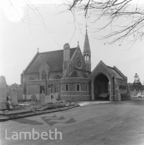 ANGLICAN CHAPEL, STREATHAM CEMETERY, TOOTING