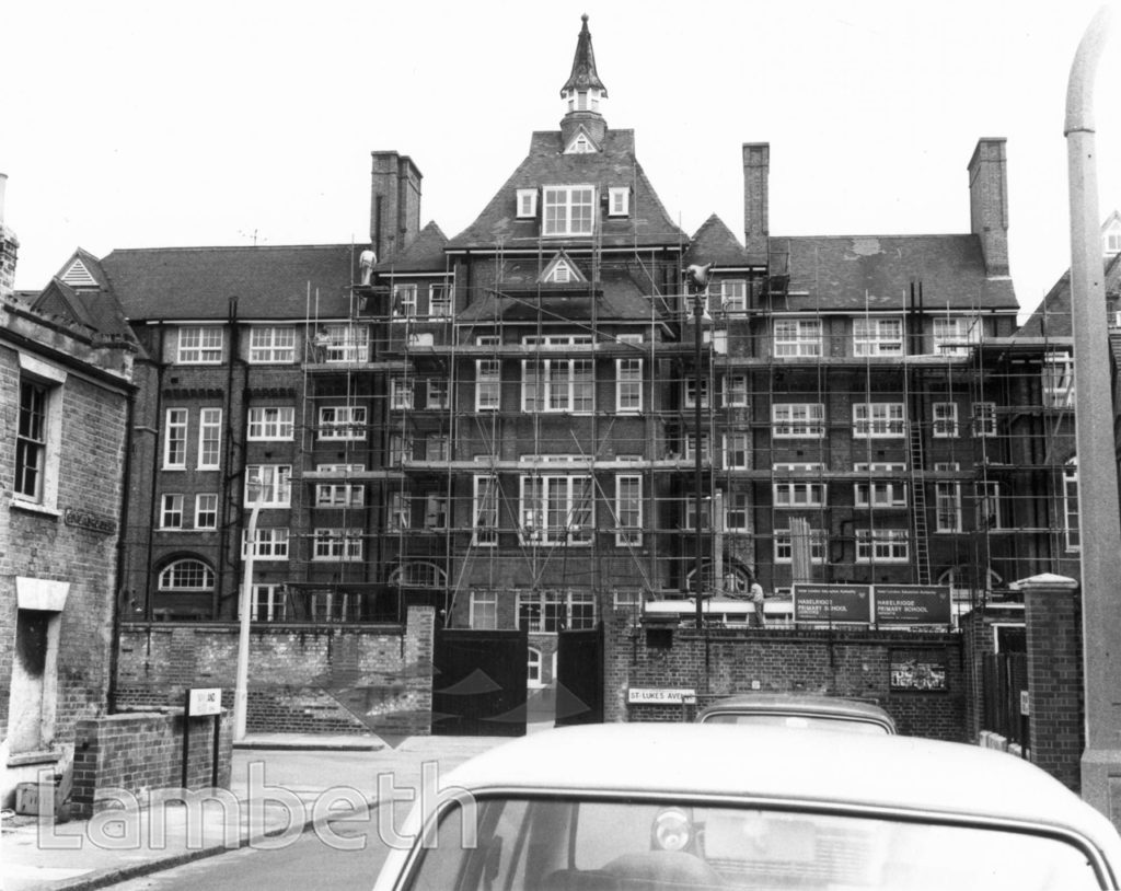 HASELRIGGE PRIMARY SCHOOL, BOWLAND ROAD, CLAPHAM