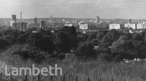 PANORAMIC VIEW FROM KNIGHT'S HILL