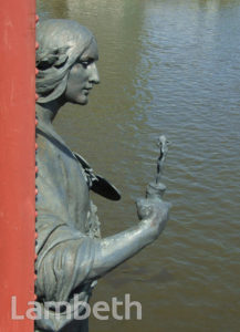 SCULPTURE, VAUXHALL BRIDGE
