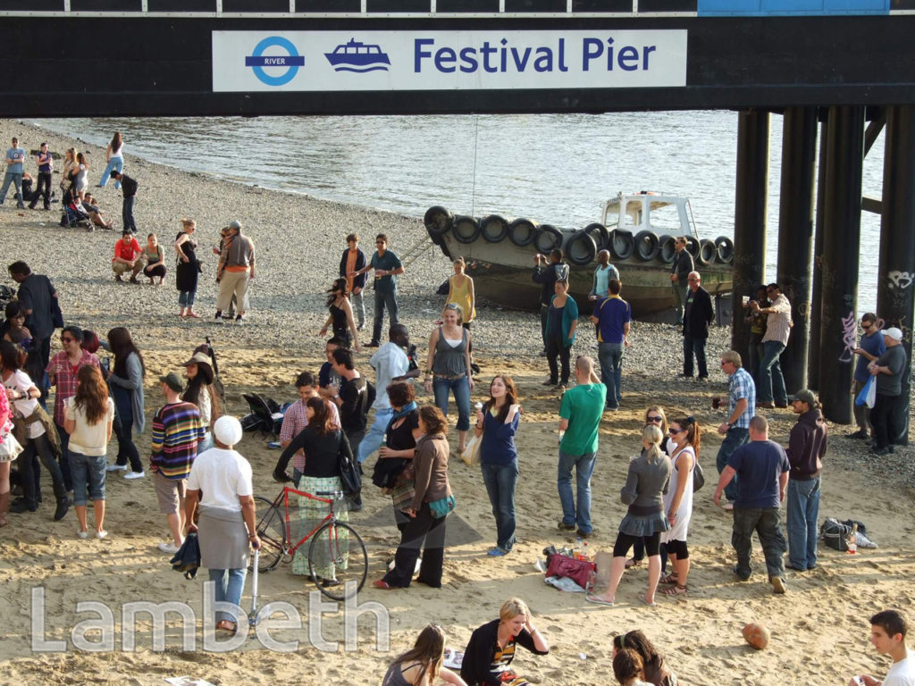 BEACH PARTY, FESTIVAL PIER, SOUTH BANK