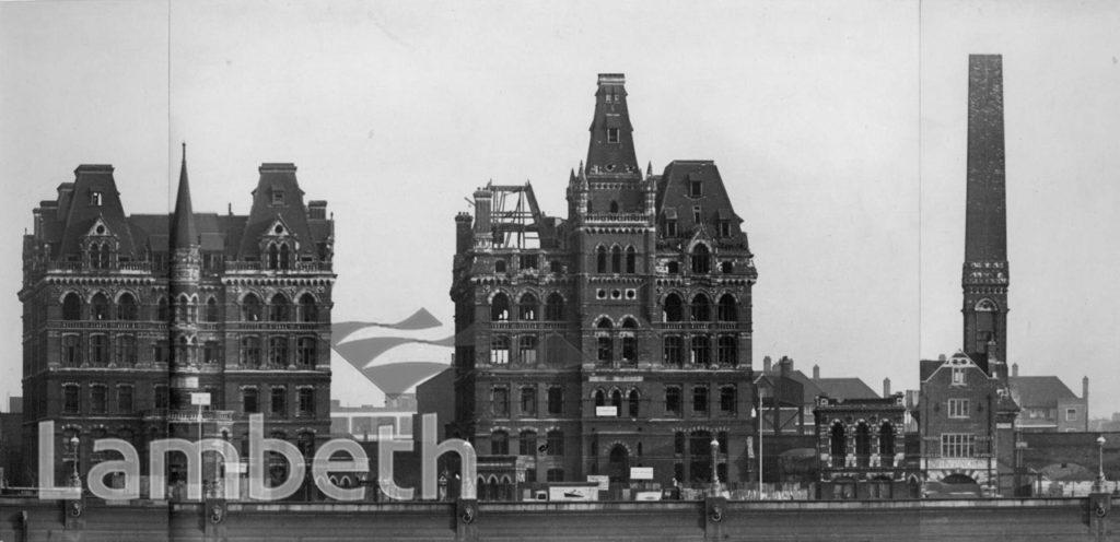 DOULTON BUILDINGS, ALBERT EMBANKMENT, LAMBETH