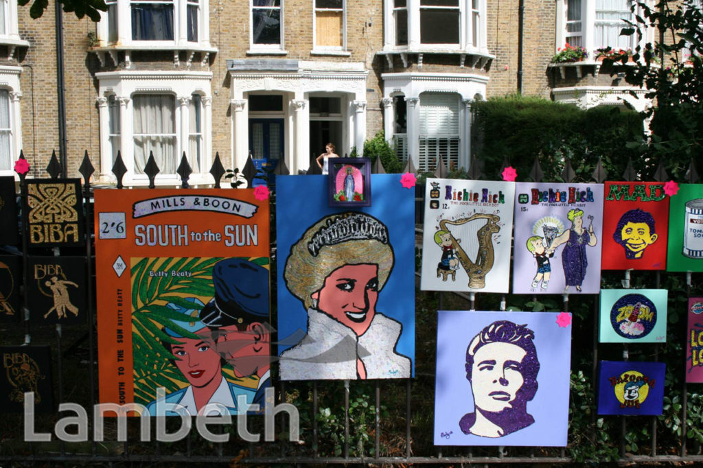 MARTY ARTWORKS, JOSEPHINE AVENUE, BRIXTON HILL