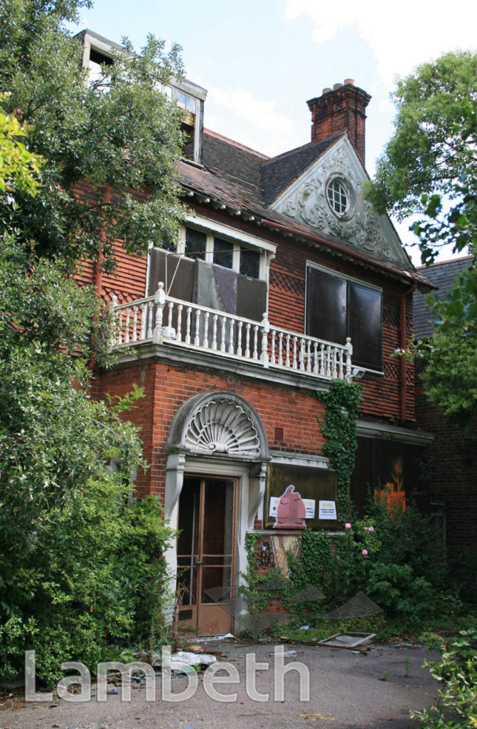 DENNIS WHEATLEY'S HOME, 1 PALACE ROAD, STREATHAM HILL
