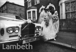BRIDE AND BRIDESMAID, BRIXTON