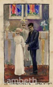 MARTIN WEDDING, ST JOHN'S ANGELL TOWN, BRIXTON