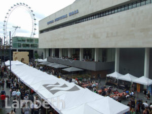 FOOD MARKET, FESTIVAL HALL, SOUTH BANK