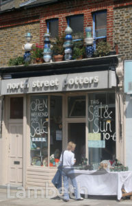 NORTH STREET POTTERS, NORTH STREET, CLAPHAM