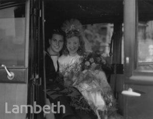 PRATT WEDDING, ST MARY'S, LAMBETH PALACE ROAD, LAMBETH