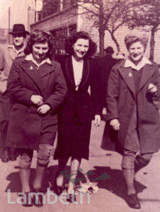 LAND ARMY WOMEN, THE PAVEMENT, CLAPHAM