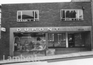 DUPONT, 20-22 GIPSY HILL, UPPER NORWOOD