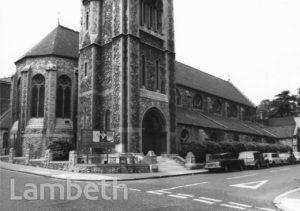 CHRIST CHURCH, GIPSY HILL, NORWOOD