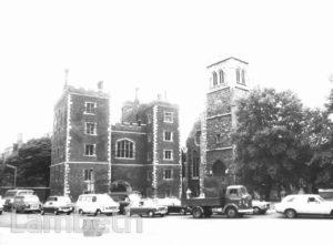 LAMBETH PALACE & ST MARY'S CHURCH, LAMBETH PALACE ROAD