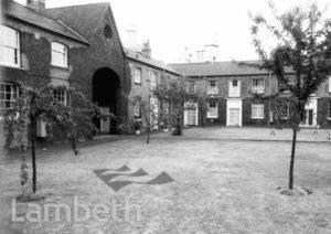 LAMBETH PALACE COTTAGES, LAMBETH ROAD