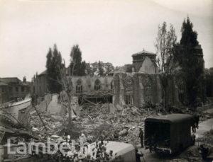 BOMB DAMAGE, CHATSWORTH WAY, WEST NORWOOD