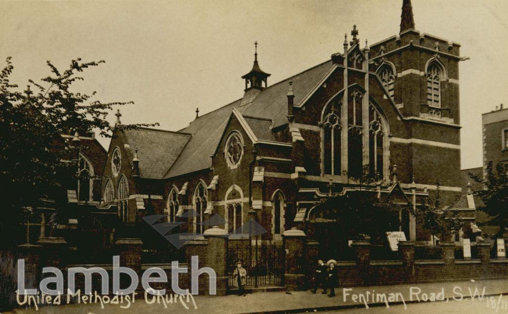 UNITED METHODIST CHURCH, FENTIMAN ROAD, BRIXTON NORTH