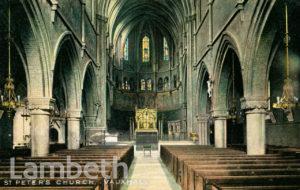 ST PETER'S CHURCH, KENNINGTON LANE, VAUXHALL