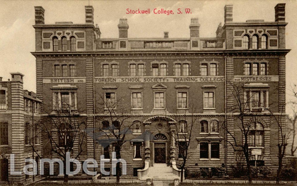 STOCKWELL TRAINING COLLEGE, STOCKWELL ROAD, STOCKWELL