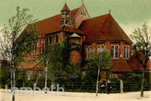 ST ALBAN'S CHURCH, ALDRINGTON ROAD, STREATHAM PARK