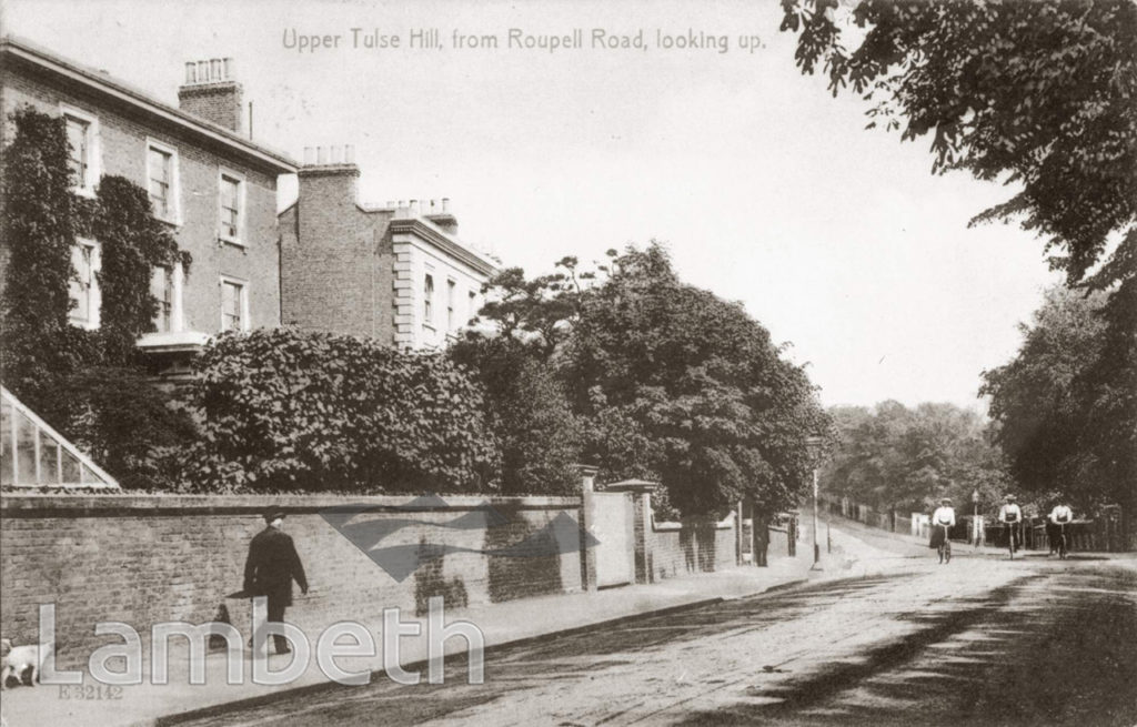 UPPER TULSE HILL, TULSE HILL