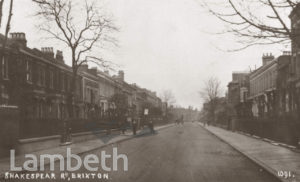 SHAKESPEARE ROAD, HERNE HILL