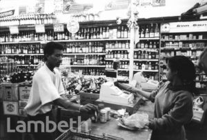 OFF-LICENCE, BRIXTON MARKET