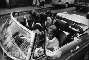 GIRLS IN CAR, BRIXTON