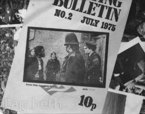 SQUATTING BULLETIN, BRIXTON