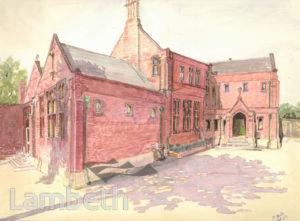 ARCHBISHOP TEMPLE'S SCHOOL, LAMBETH ROAD, LAMBETH