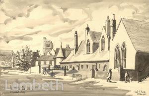 ARCHBISHOP TAIT'S SCHOOL, LAMBETH ROAD, LAMBETH