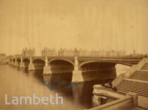 WESTMINSTER BRIDGE & ST THOMAS' HOSPITAL