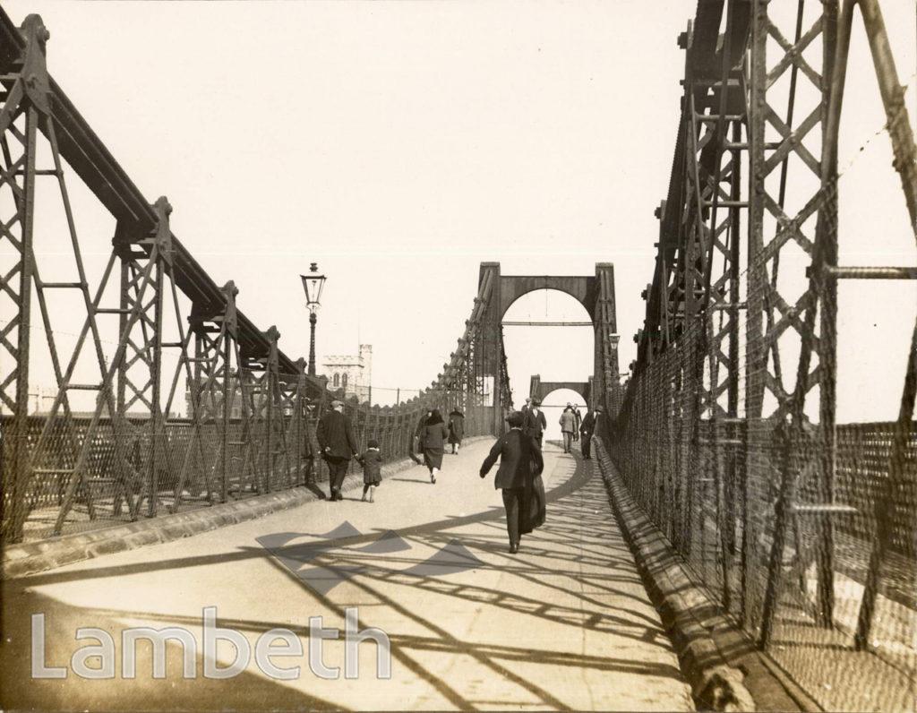 LAMBETH BRIDGE, LAMBETH