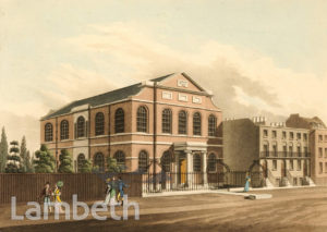 LAMBETH METHODIST CHAPEL, LAMBETH ROAD