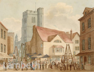 LAMBETH FAIR, ST DAVID'S DAY, FORE STREET, LAMBETH