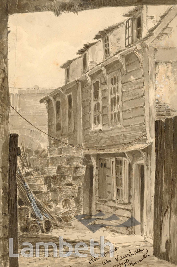 OLD HOUSES, HIGH STREET, VAUXHALL