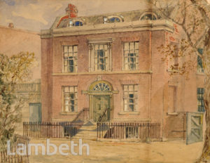 THE LAWN, SOUTH LAMBETH ROAD, VAUXHALL