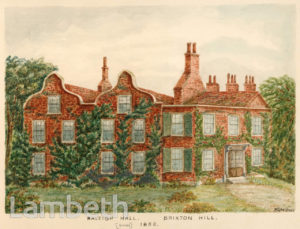 RALEIGH HOUSE, BRIXTON HILL