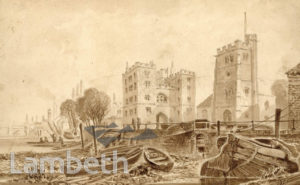 LAMBETH FORESHORE AND LAMBETH PALACE