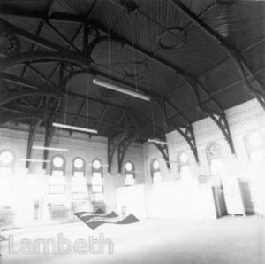 LAMBETH HOSPITAL INTERIOR, RENFREW ROAD, KENNINGTON