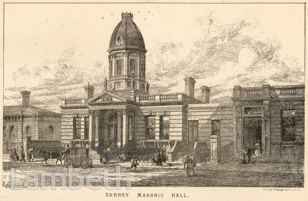 SURREY MASONIC HALL, CAMBERWELL