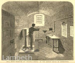 PRISONER AT LABOUR, SURREY HOUSE OF CORRECTION, BRIXTON