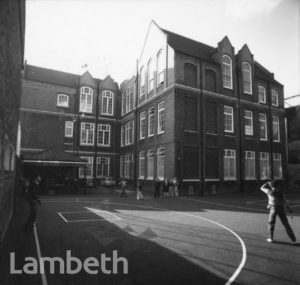 JUNIOR SCHOOL, WALNUT TREE WALK, LAMBETH