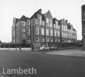 ASHBY MILLS SCHOOL, PRAGUE PLACE, BRIXTON HILL