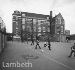 LARKHALL SCHOOL, GASKELL STREET, STOCKWELL